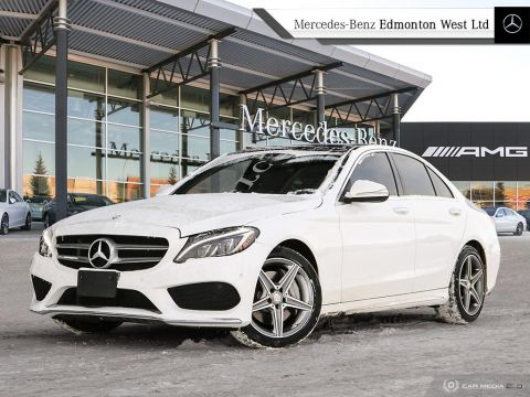 Certified Pre-Owned 2015 Mercedes-Benz C400 4MATIC Sedan