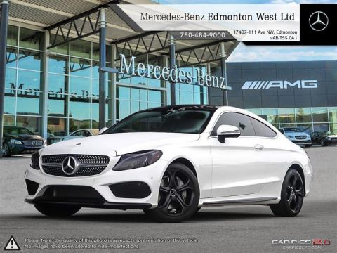 New 2017 Mercedes-Benz C300 4MATIC Coupe