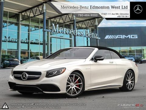 New 2017 Mercedes-Benz S63 AMG 4MATIC Cabriolet