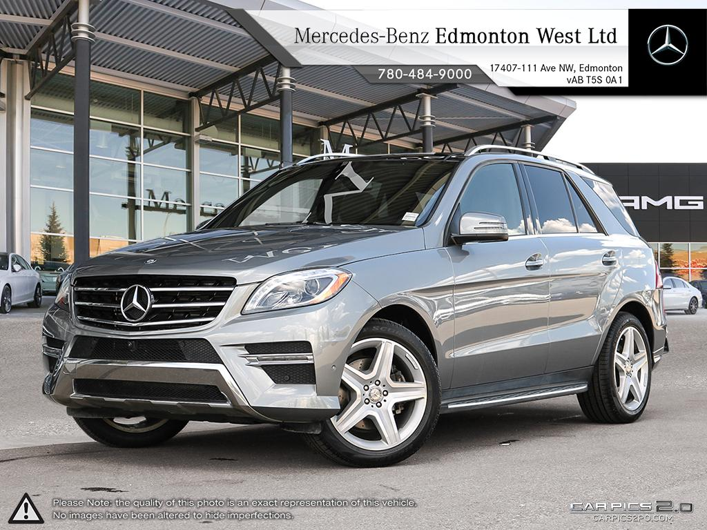 Pre Owned 2015 Mercedes Benz ML CLASS ML350