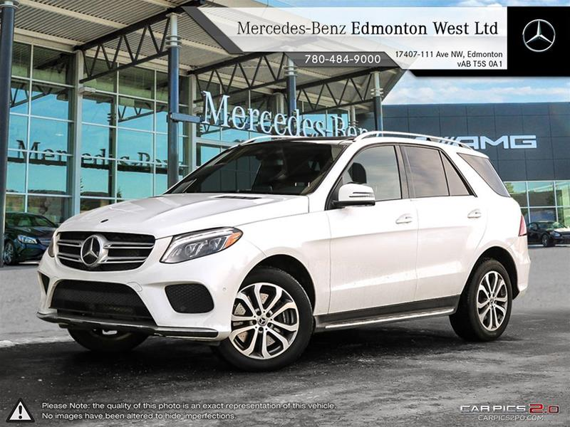 New 2018 Mercedes Benz Gle Gle400 Suv In Edmonton Alberta