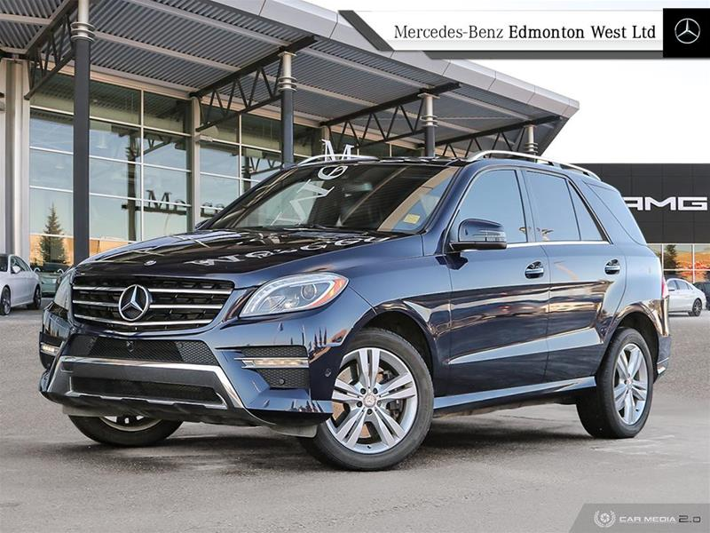 Certified Pre-Owned 2015 Mercedes-Benz ML400 4MATIC