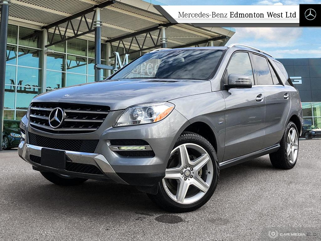 Pre-Owned 2012 Mercedes-Benz ML350 4MATIC