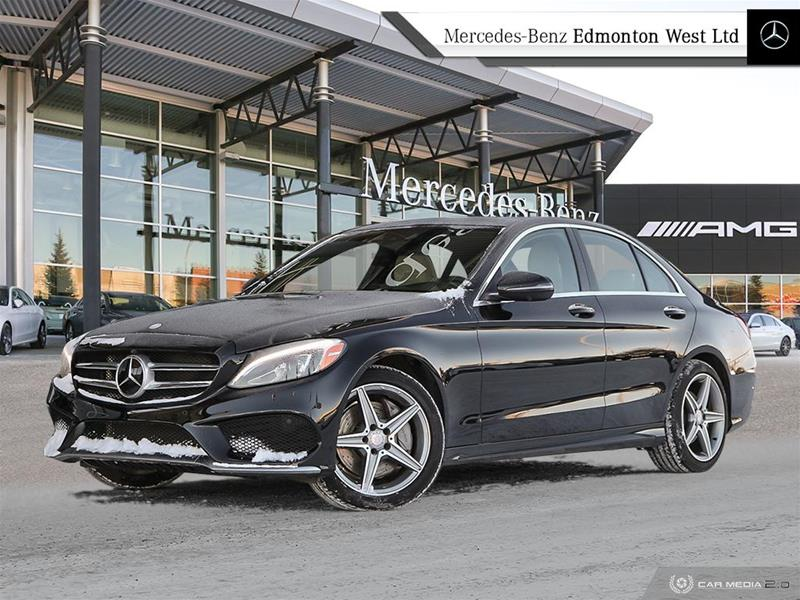 new 2017 mercedes-benz c300 4matic sedan 4-door sedan in edmonton