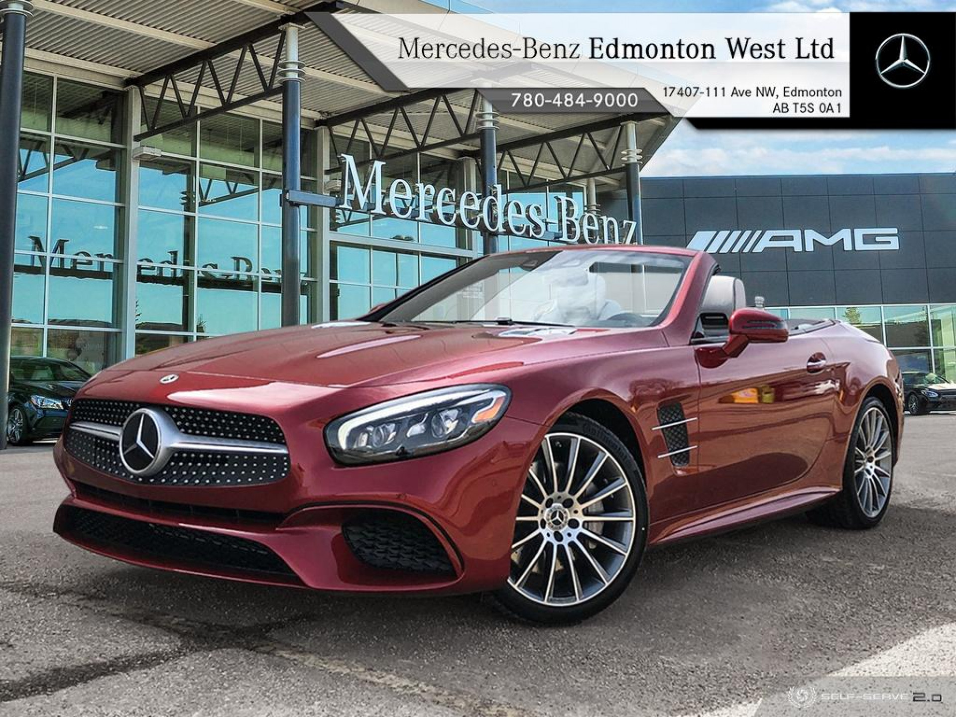 New 2020 Mercedes Benz SL 550 Roadster - Premium Package