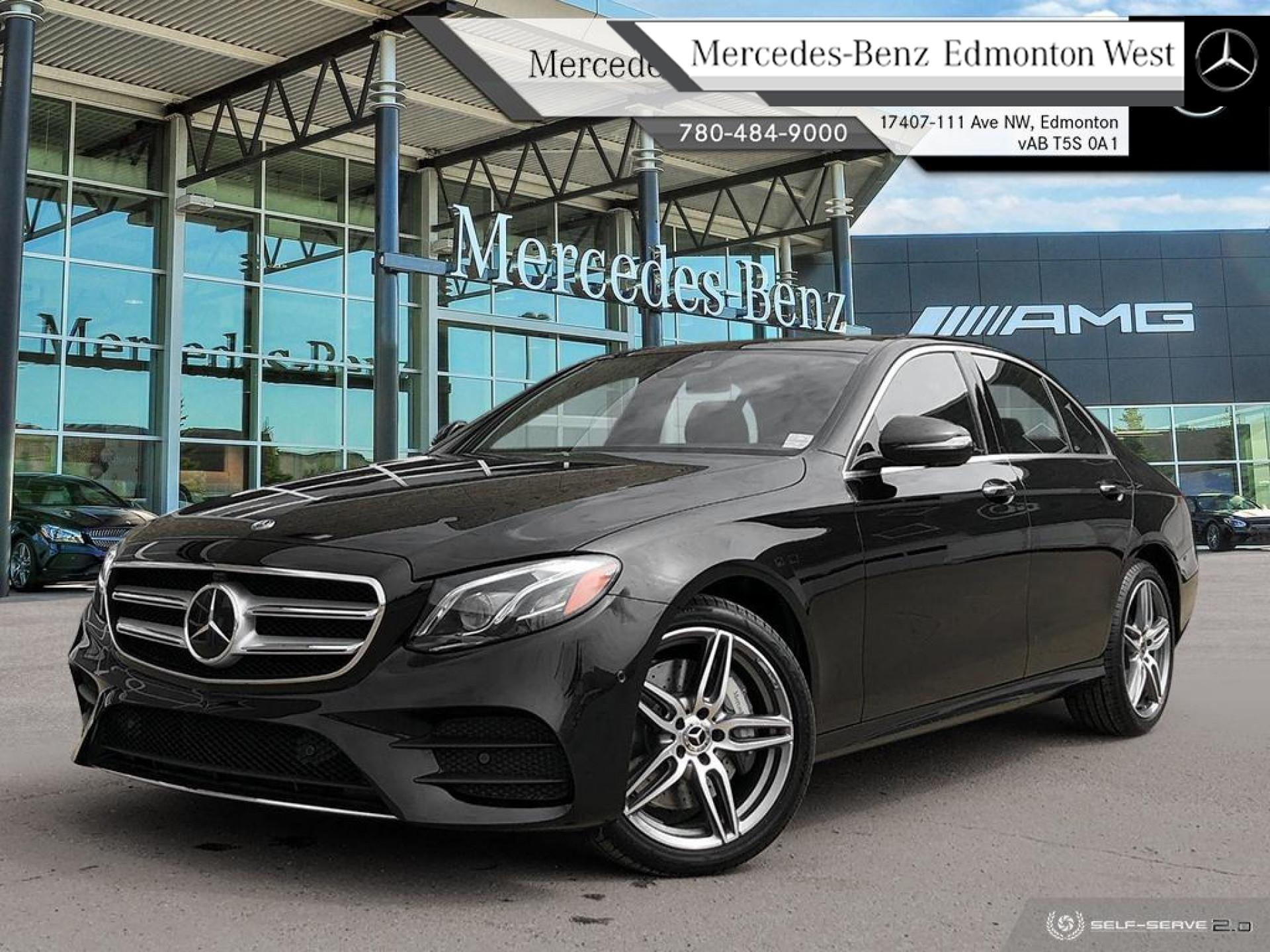 New 2020 Mercedes Benz E-Class E 350 4MATIC Sedan