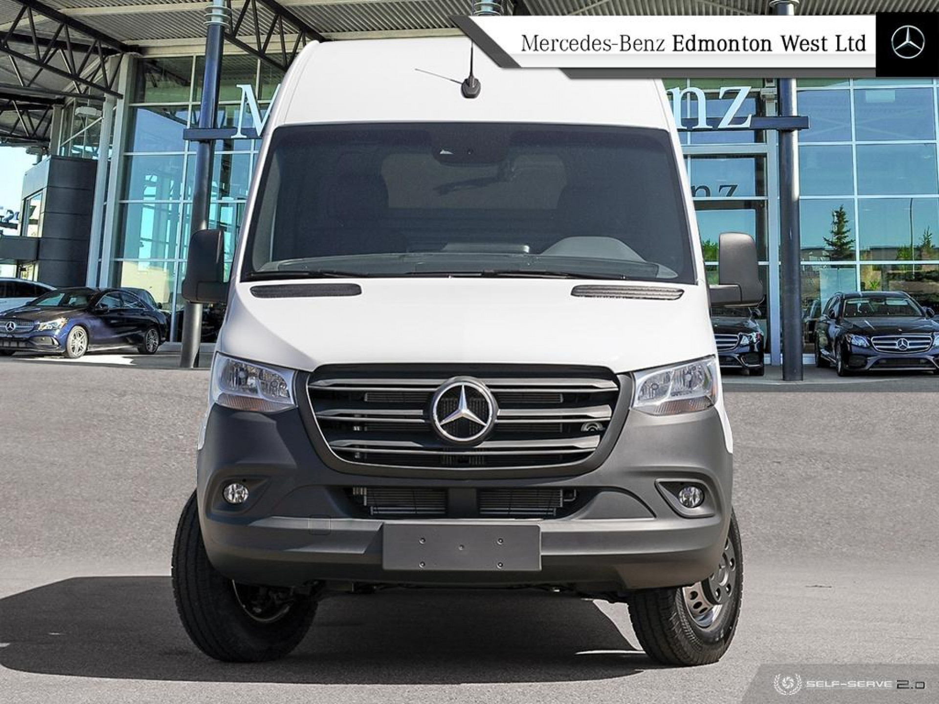 "Pre-Owned 2019 Mercedes Benz Sprinter Cargo Van 3500 High Roof V6 170"" Demo Unit - Save $8500"