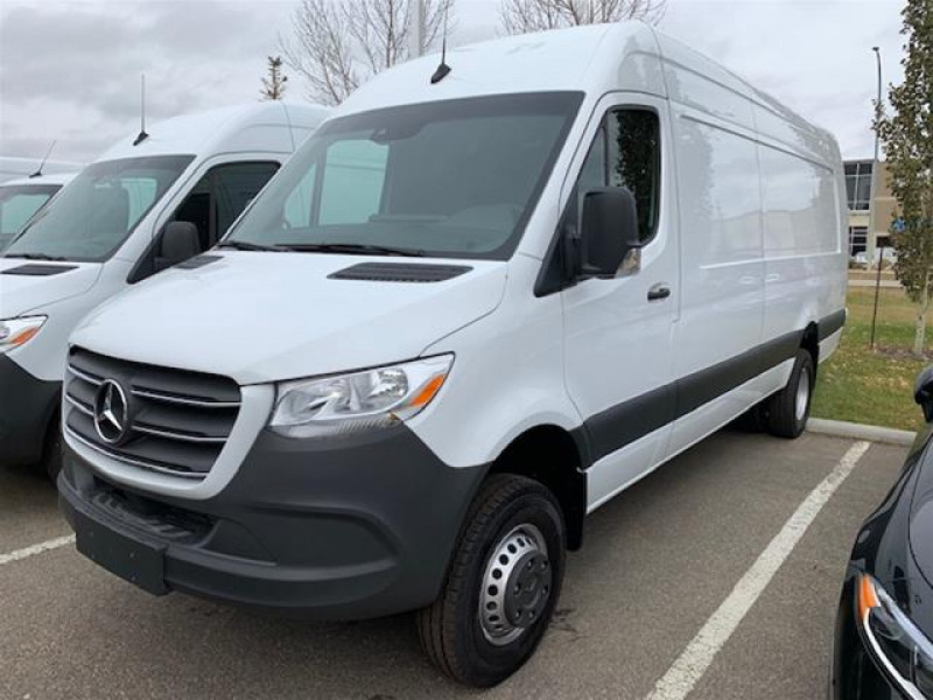 "Pre-Owned 2019 Mercedes Benz Sprinter Cargo Van 3500XD High Roof V6 170"" EXT 4x4 Save $2,500"