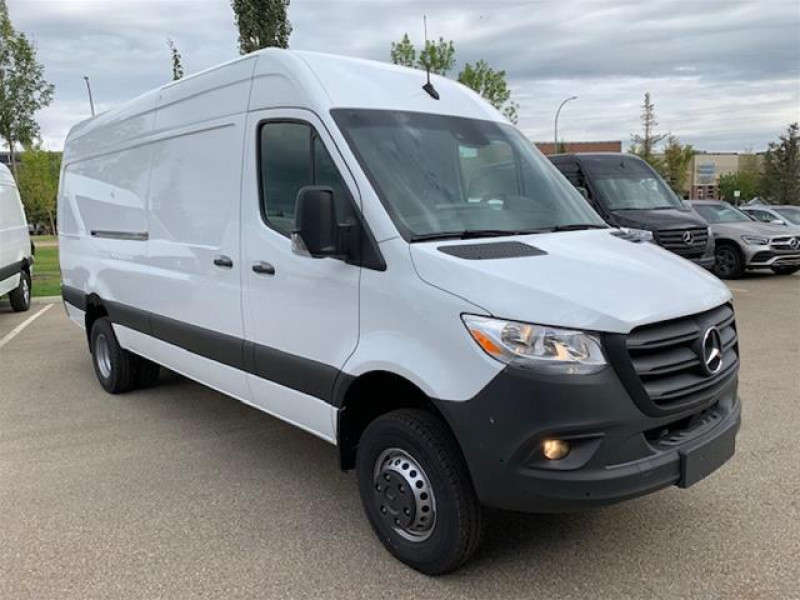 "New 2019 Mercedes Benz Sprinter Cargo Van 3500XD High Roof V6 170"" 4x4 Save $2,500"