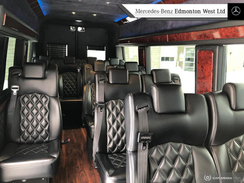 Certified Pre-Owned 2016 Mercedes Benz Sprinter Chassis-Cabs 170 WB | 14 PASSENGER EXECUTIVE A STYLE LIMO
