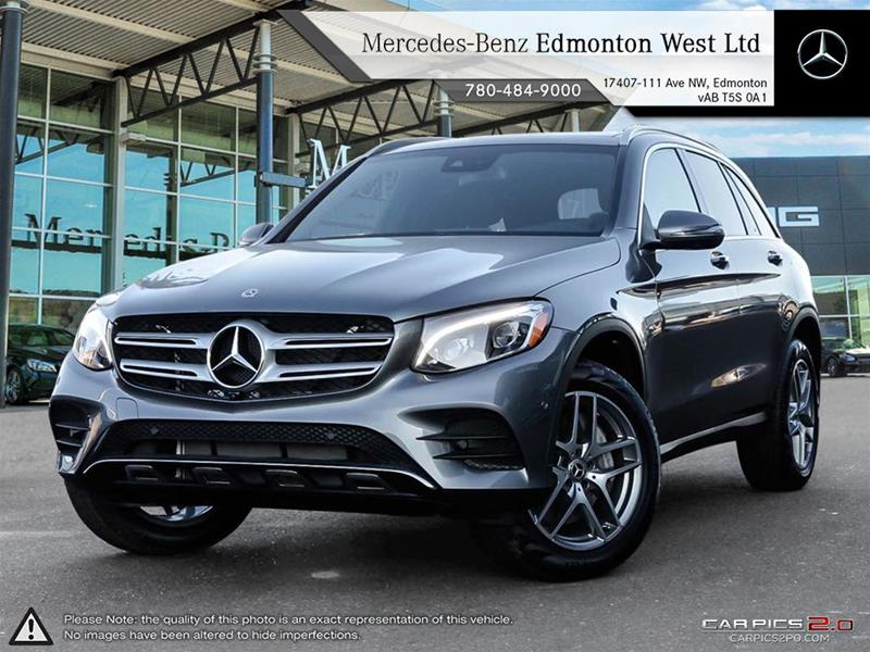 New 2018 mercedes benz glc glc300 suv in edmonton alberta for Mercedes benz glc 300 accessories