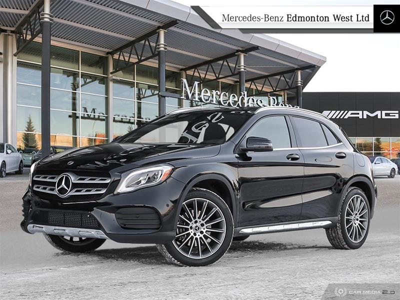 new 2018 mercedes-benz gla250 4matic suv suv in edmonton, alberta