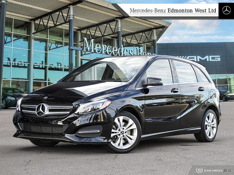 new 2018 mercedes benz b class b250 sports tourer in edmonton alberta. Black Bedroom Furniture Sets. Home Design Ideas