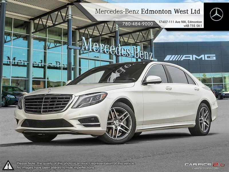 New 2017 mercedes benz s class s550 sedan in edmonton for 2017 mercedes benz s550 lease