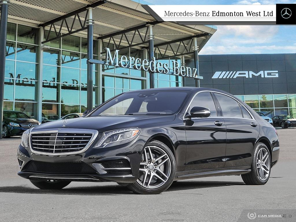 Certified Pre Owned 2016 Mercedes Benz S550 4matic Sedan Lwb