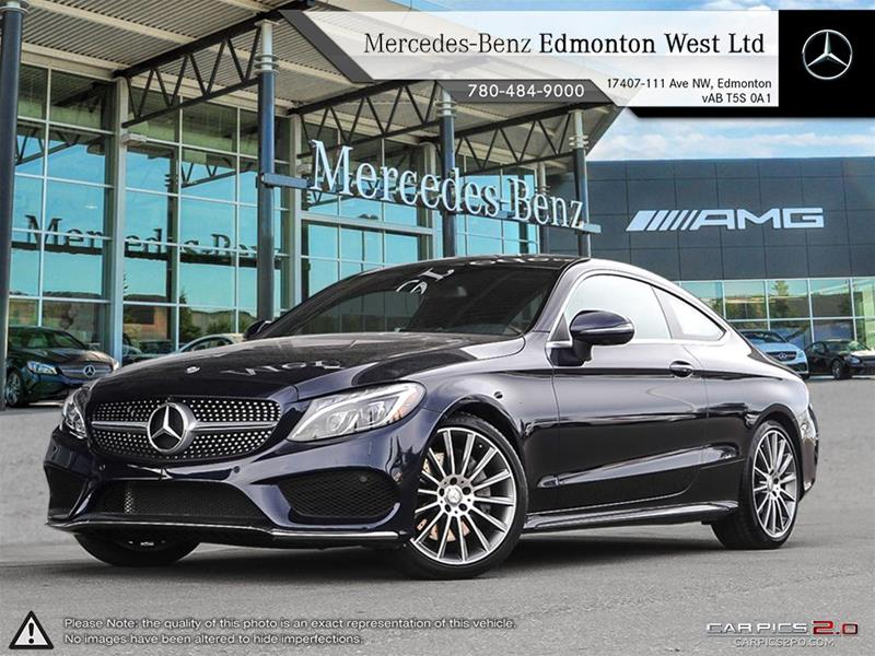 New 2017 mercedes benz c class c300 coupe in edmonton alberta for 2017 mercedes benz e350 price