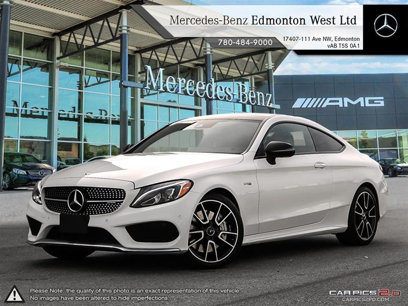 New 2017 mercedes benz c class c43 amg coupe in edmonton for Mercedes benz c43 amg lease