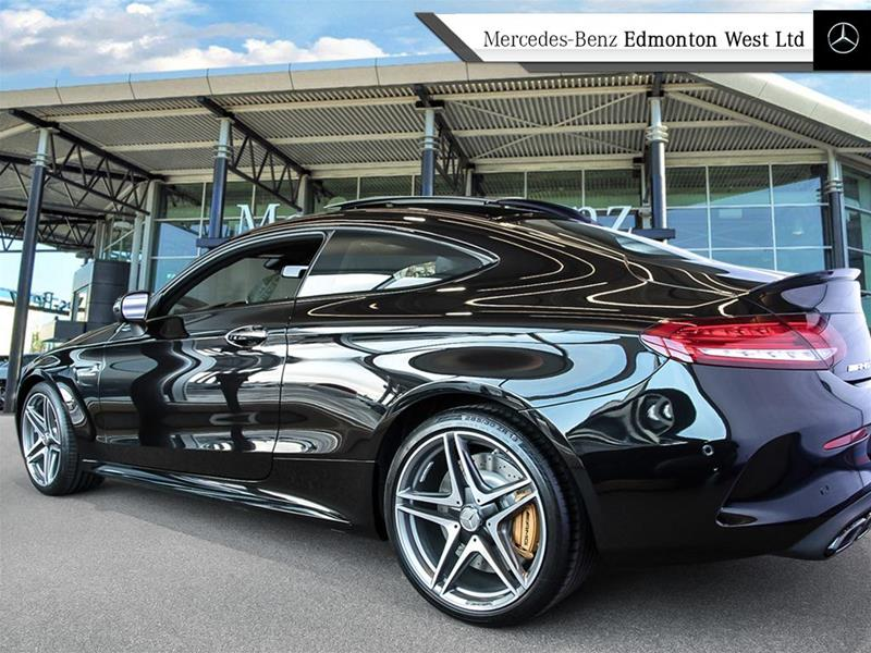 New 2018 mercedes benz c class c63 s amg coupe in edmonton for Mercedes benz c63s amg price