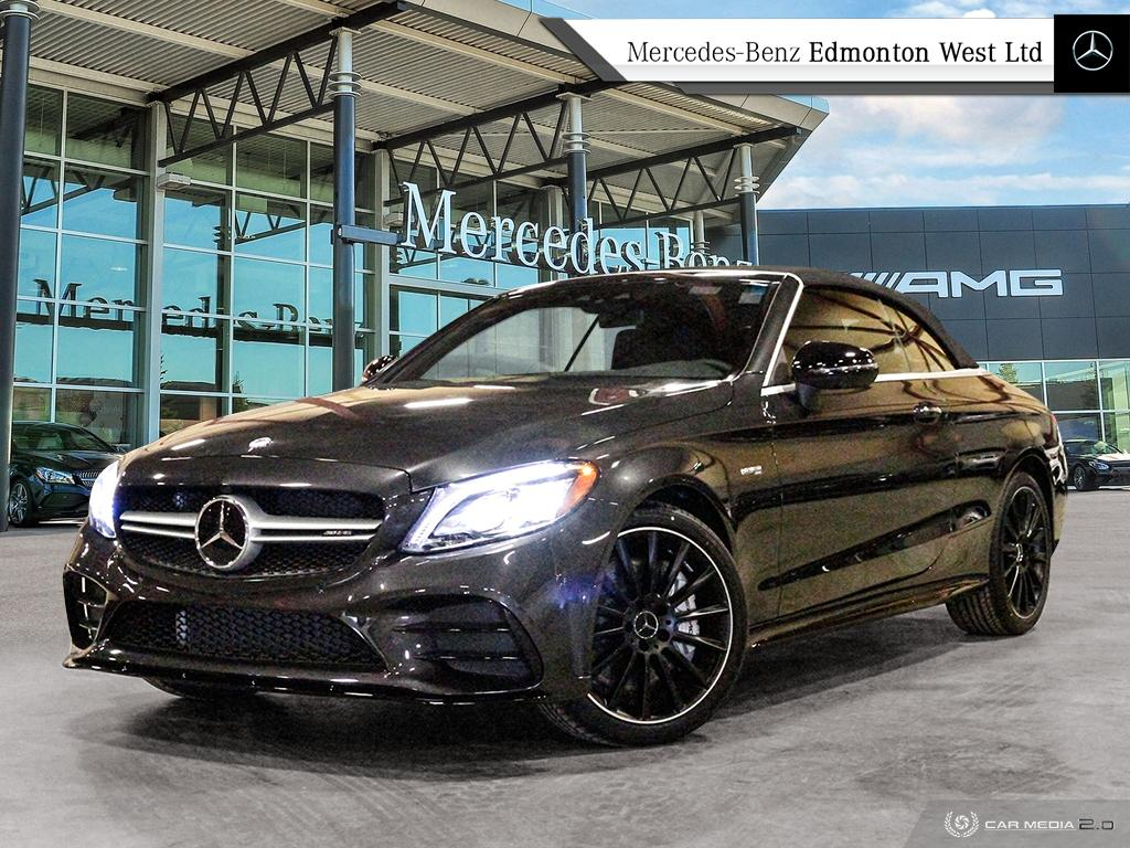 New 2019 Mercedes-Benz C43 AMG 4MATIC Cabriolet Convertible