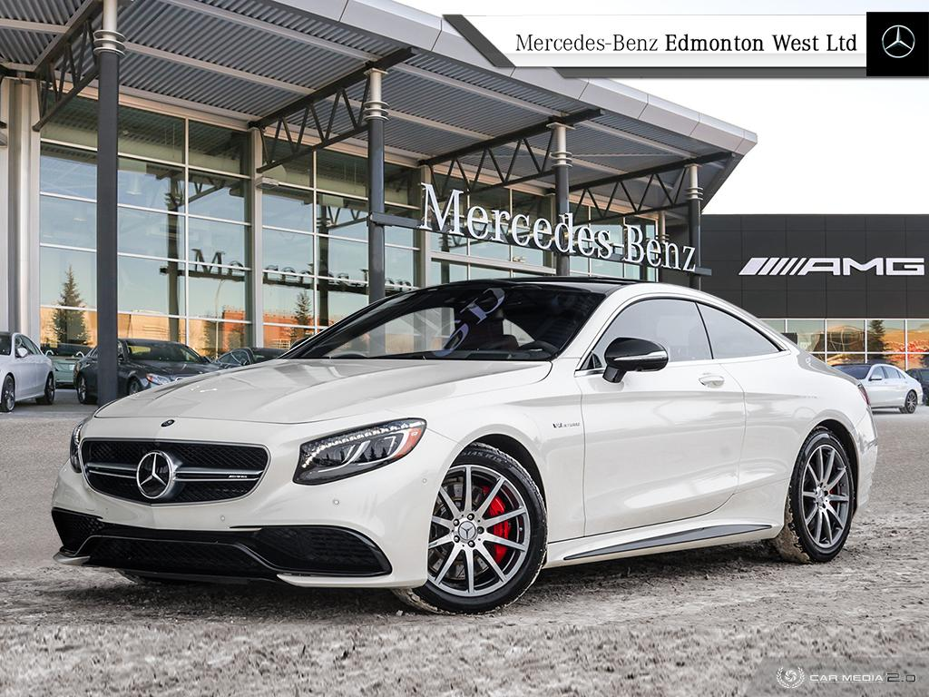 Certified Pre Owned 2016 Mercedes Benz S63 Amg 4matic Coupe