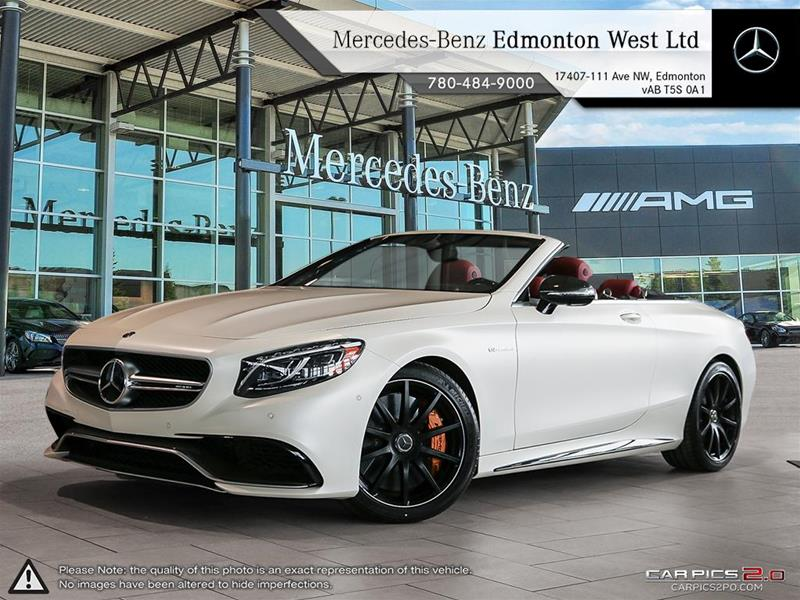New 2017 Mercedes Benz S Class S63 AMG
