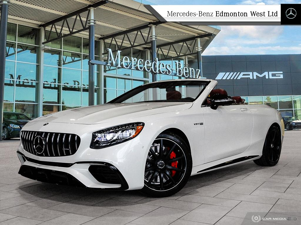 New 2020 Mercedes-Benz S63 AMG 4MATIC+ Cabriolet