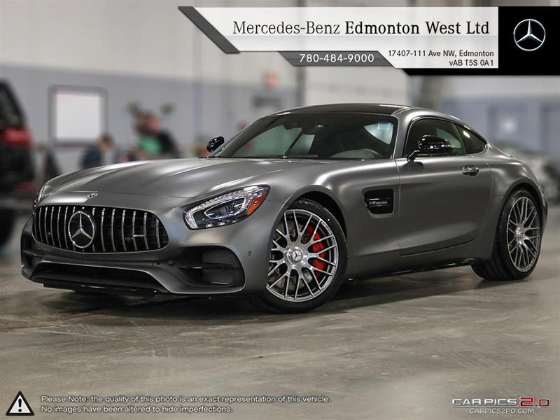 new 2018 mercedes benz amg gt amg gt c coupe in edmonton alberta. Black Bedroom Furniture Sets. Home Design Ideas