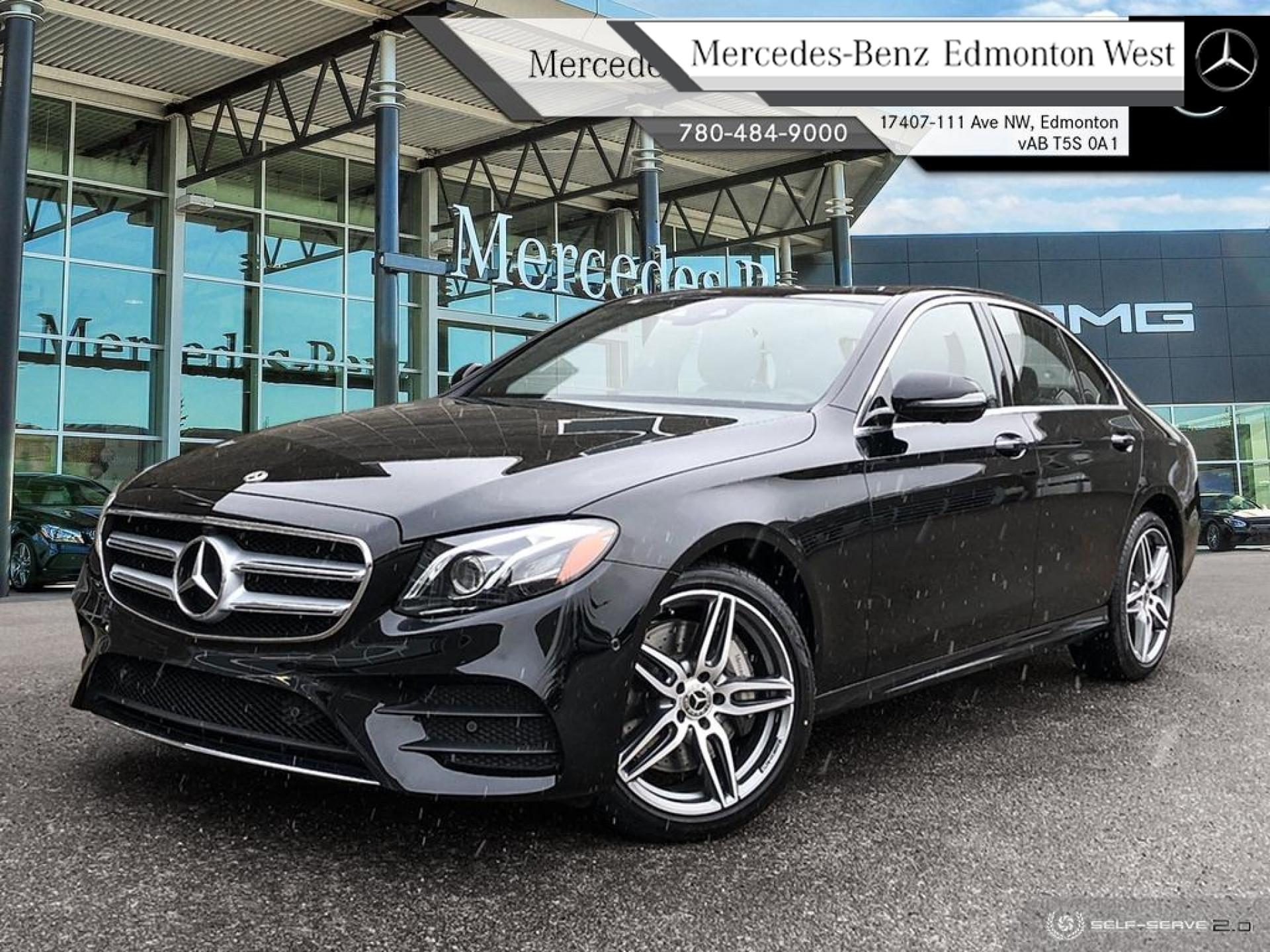 Pre-Owned 2020 Mercedes Benz E-Class E 350 4MATIC Sedan Executive vehicle, Premium Plus Equipment, Technology Package
