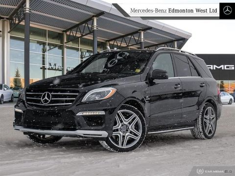 Certified Pre-Owned 2015 Mercedes-Benz ML63 AMG