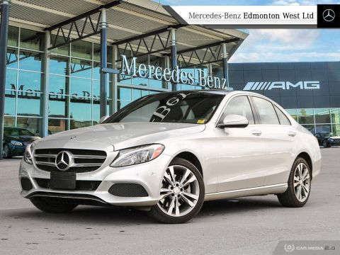 Certified Pre-Owned 2015 Mercedes-Benz C300 4MATIC Sedan