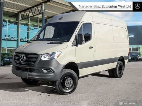 New 2019 Mercedes-Benz Sprinter 4x4 3500XD Cargo 144