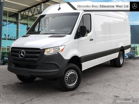 New 2019 Mercedes-Benz Sprinter 4x4 3500XD Cargo 170 Ext