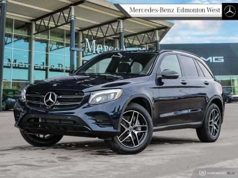 Pre-Owned 2019 Mercedes Benz GLC-Class 300 4MATIC SUV Executive Demo, Low KM, Low Rates Available, Remote Start Included