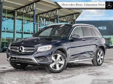 Pre-Owned 2019 Mercedes Benz GLC-Class 4MATIC SUV Executive Demo, Low KM, Low Rates Available, Remote Start Included
