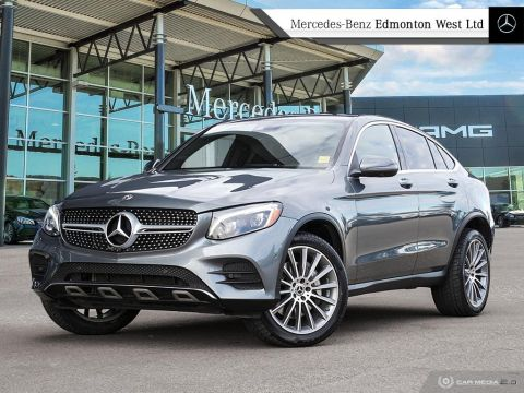 Certified Pre-Owned 2017 Mercedes-Benz GLC300 4MATIC Coupe
