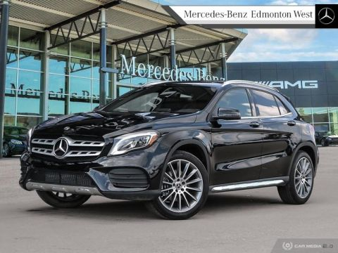 Pre-Owned 2019 Mercedes Benz GLA 250 4MATIC SUV - Premium Package, Navigation, Executive Demo, Remote Start