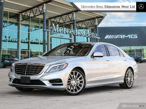 Certified Pre-Owned 2017 Mercedes-Benz S550 4MATIC Sedan (LWB)