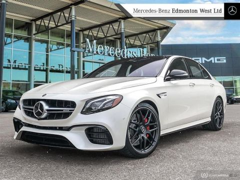 New 2020 Mercedes-Benz E63 S 4MATIC+ Sedan